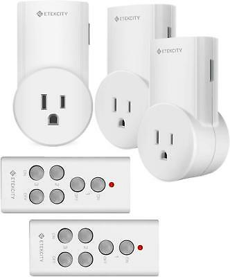Plug Receptacles Wireless Remote Control Electrical Outlet Switch For Appliances