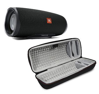 JBL Charge 4 Black Portable Bluetooth Speaker w/Case