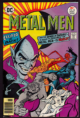 Metal Men #48 (Oct-Nov 1976, DC) 8.5 VF+