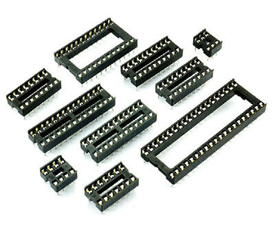 DIP IC Socket Adaptor Chip Socket IC Socket Base 6/8/14/16/20/24/28/32/40/42Pins