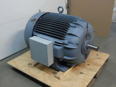 RELIANCE 250 HP 480 Volt 3 Phase Electric Motor- Reconditioned