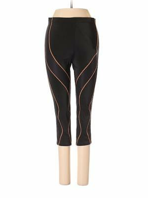 CW X Womens 3 4 Performx Tights XS Black Orange Crop Large