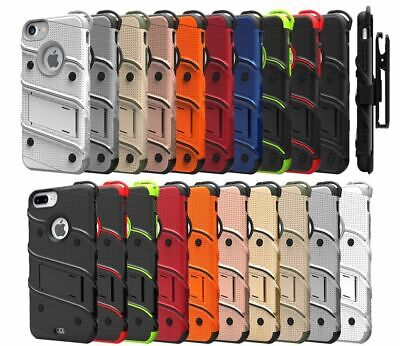 Apple iPhone 6/ iPhone 7 / iPhone 8 Zizo Bolt Case with Tempered Glass Protector
