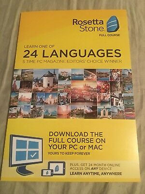 Rosetta Stone Full Course: Learn ONE of 24 languages. Download on PC or MAC. ##5