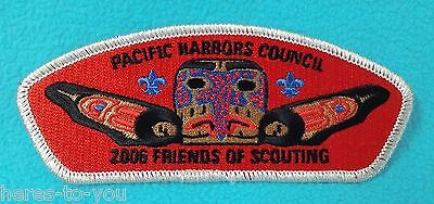 2006 Pacific Harbors Council FRIENDS OF SCOUTING BSA Patch~Boy Scout FOS