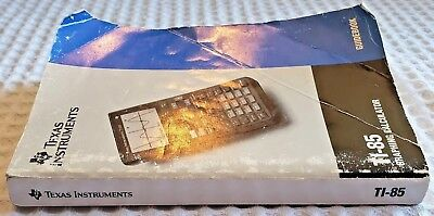 Texas Instruments TI-85 Graphing Calculator Guidebook