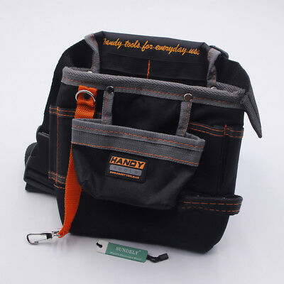 Electricians Tool Pouch Work/Tool Belt For Screwdrivers, Pliers