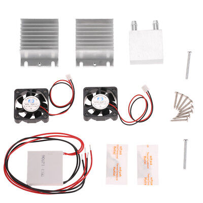 DIY Thermoelectric Peltier Refrigeration Cooling Cooler Fan System Heatsink I7B3