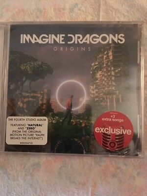 Imagine Dragons - Origins - SEALED TARGET EXCLUSIVE - +3 Extra Songs!