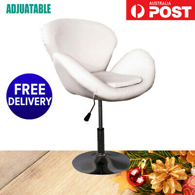 PU Leather Beauty Styling Hairdressing Spa Salon Stool Barber Chair White