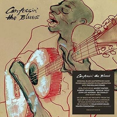 Confessin The Blues - 2 DISC SET - Various Artist (2018, CD NUOVO)