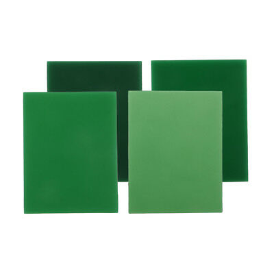 Wax Carving Slices 1mm 2mm 3mm 4mm Green Wax Design Carve Jewelry Model DIY