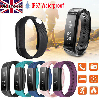 Smart Fitness Activity Tracker Smart Watch Step Calorie Distance Fit-Bit Style
