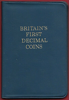 GB - UK 1971 Britain's First Decimal Coins Set in Presentation Case