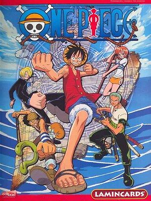 ALBUM JEU ONE PIECE + 36 LAMINCARDS sous blister lamincard