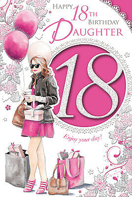 Xpress Yourself 18 Today Daughter 18Th Birthday Card