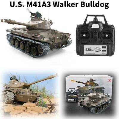 Henglong 3839-1 1:16 Remote Control US M41A3 Walker Bulldog Light Battle Tank