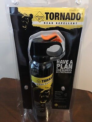 Bear Spray Up To 9.2 Seconds Of Continuous Bear Spray Penetrates Wet Fur Black