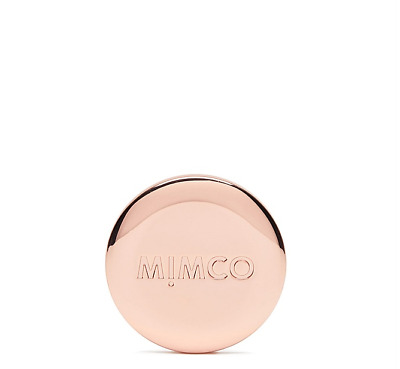 Mimco MODIFY COLLETION MIM BADGE ROSE GOLD METAL Authentic New With Tag RRP29.95