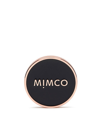 Mimco MODIFY COLLETION ENAMOUR BADGE BLACK ROSE GOLD Authentic BNWT RRP29.95