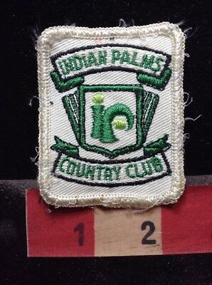 Vtg Golf INDIAN PALMS COUNTRY CLUB Golfing California Patch C76P