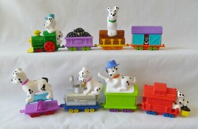 Mcdonalds - 102 Dalmatians Happy Meal Train Set - Nib