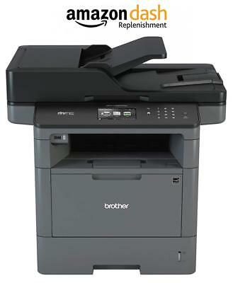 Brother Monochrome Laser Printer, Multifunction All-in-One MFC-L5900DW Wireless