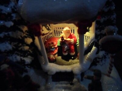 "Thomas Kinkade Painter of Light Teleflora ""St. Nicholas Circle Lighted"