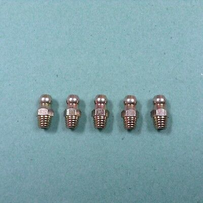 1/4BSF Grease Nipples  Straight   Pack Of 5