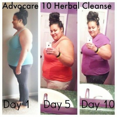 ADVOCARE Herbal Cleanse Fiber = 20 Capsules 10 Drink Pouches Unflavored