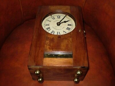 Antique Time recorder clock