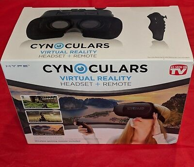 Cynoculars Virtual Reality Headset As Seen On TV