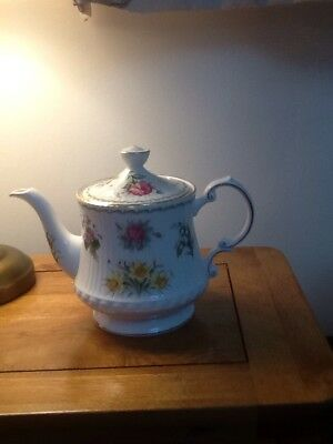 Queen's Fine Bone China - Flowers Of The Month Teapot