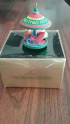 Hallmark ornaments tree trimmer collection Carousel