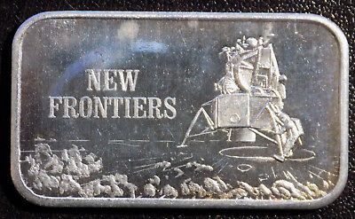 New Frontiers Mark IV United States Silver Corporation USSC 1 oz silver art bar