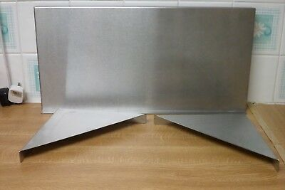 600 x 300 STAINLESS STEEL SHELVING