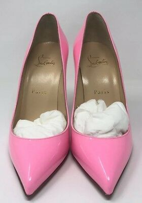 Women s Christian Louboutin Dolly Pink Pigalle Follies 100 Patent Size 36 57c9d7c00