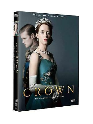 The Crown Season 2 (DVD 2018) Free Shipping