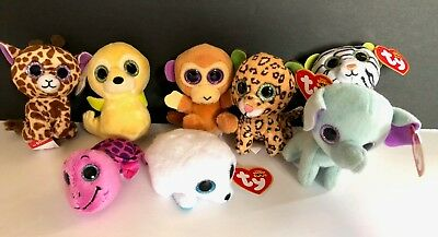 TY TEANIE BEANIE BOO Boos Lot of 8 Mini Plush McDonald s Happy Meal Toys -   19.99  3d7ff3e95ed4