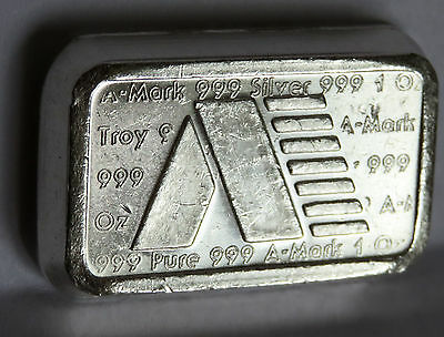 A Mark 1981 Art Bar #a171 Usvi .999 Fine Silver Stacker Virgin Islands 1 Troy Oz