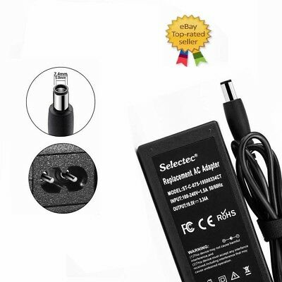 65W 19.5V 3.34A AC Adapter Wall Charger For Latitude E6320 Laptop 7.4*5.0 mm