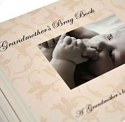 Brand new Grandmothers Baby Brag Book Photo Album keepsake
