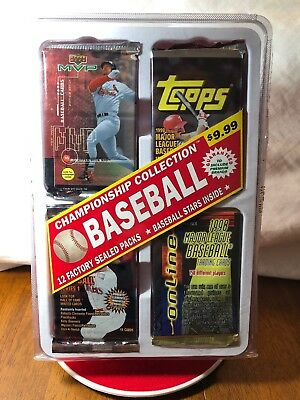 Championship Collection Baseball Factory Sealed Box w/12 Factory Sealed Packs