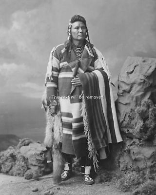 Native American Indian Chief Joseph  8x10 Photo Print