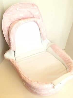 Baby Delight Snuggle Nest Harmony Portable Infant Sleeper Baby Bed - Pink