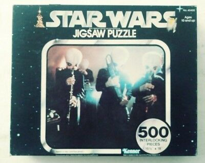 Vintage Star Wars Puzzle. Series 4 The Cantina Band. (1977, Kenner)