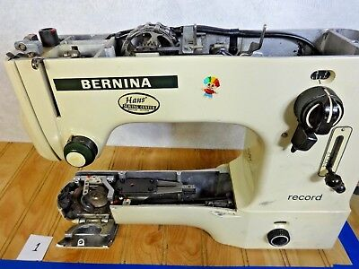 Vintage Bernina Record 530 Sewing Machine - PARTS ONLY - INTERNAL GEARS ETC