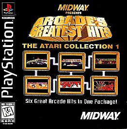 Arcade's Greatest Hits: The Atari Collection 1 Sony PlayStation 1 NEW/SEALED PS1