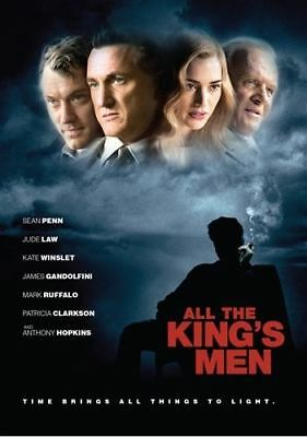 """All The King""""s Men (Blu-ray Disc, 2006) (Sean Penn, Jude Law, Kate Winslet)"""
