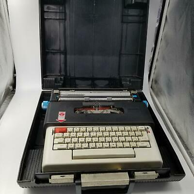 Olivetti Lettera 36 Portable Electric Typewriter in Case Rare Vintage